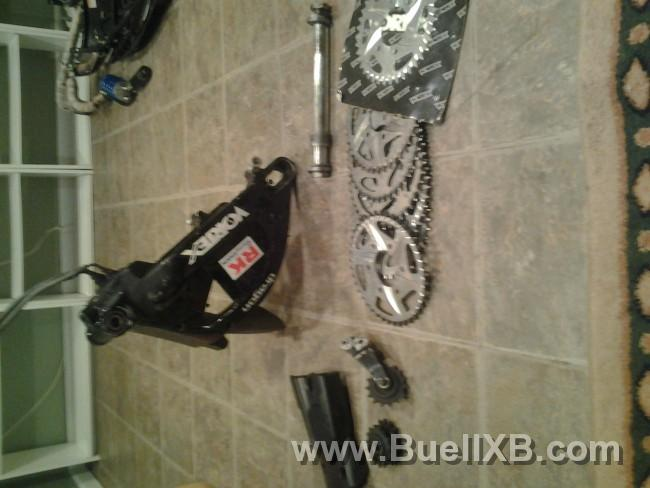 2003 buell xb chain conversion kit $750