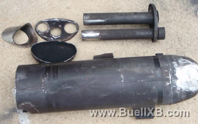 For Sale Buell Xb12 Stock Muffler Ready For Modifications
