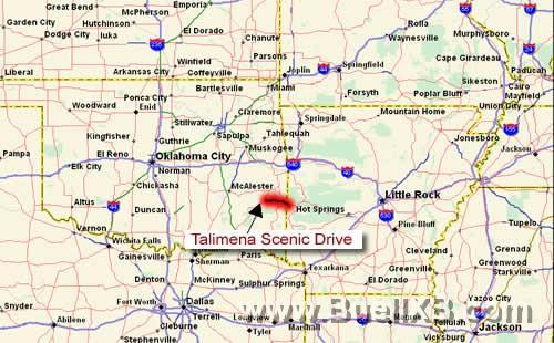 Talimena Drive Map Oklahoma Group rides & Talimena scenic drive ride