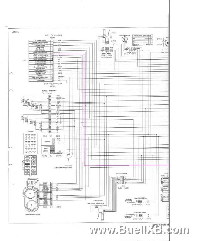 Buell Xb9 parts manual