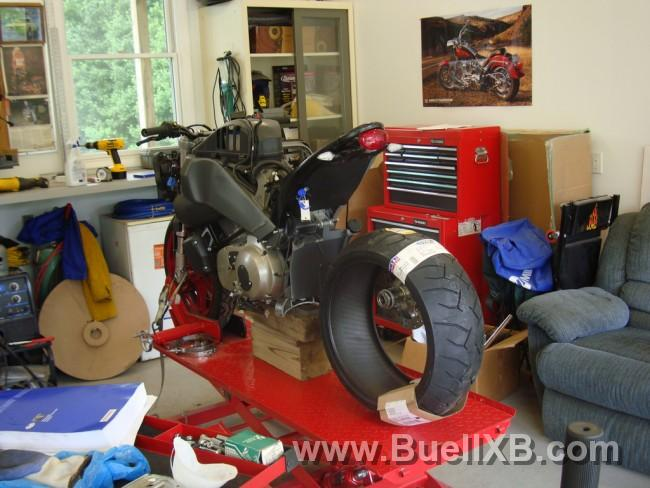 Grandstand Designs Buell : Sweeet looking buell single side swing arm page