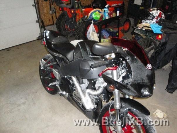 Buell Carbon Parts – Idea di immagine del motociclo