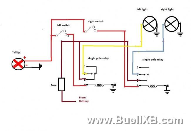 cornering light wiring diagram two light wiring diagram power at light