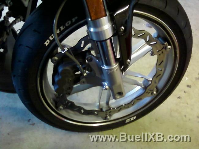 Galfer Solid Mount Wave Brake Rotor Front for 04-09 Buell XB12R Front