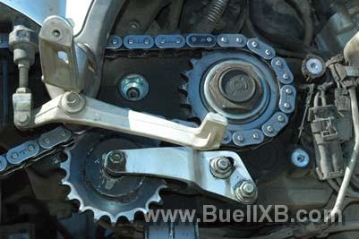 Buell Blast Chain Conversion