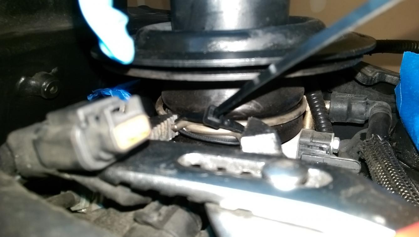 How to: Remove intake manifold velocity stack : With Pics!